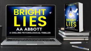 outed as an accountant who turned to a life of literary crime with psychological thriller Bright Lies