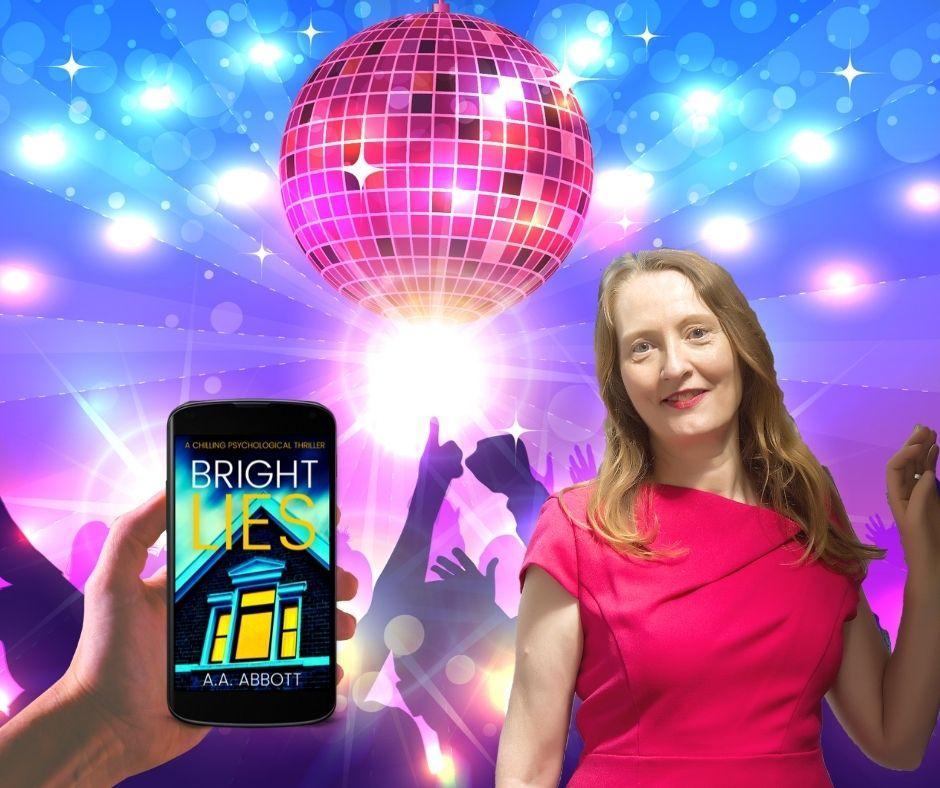 Psychological thriller writer AA Abbott set her latest book, Bright Lies, in a seedy nightclub