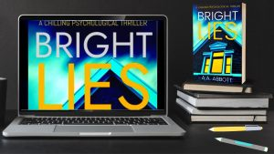 Writer of Bright Lies, AA Abbott, outed as an accountant who turned to a life of literary crime
